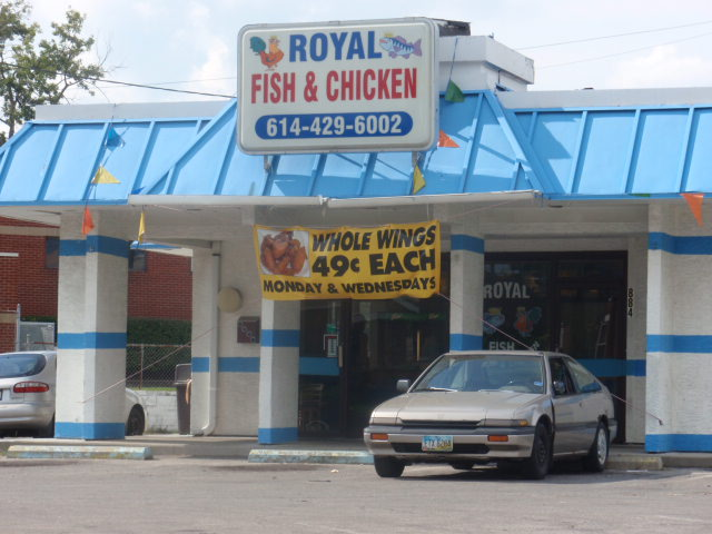 The Chicken Corner Of Columbus No Fear Of Frying Here Cmh