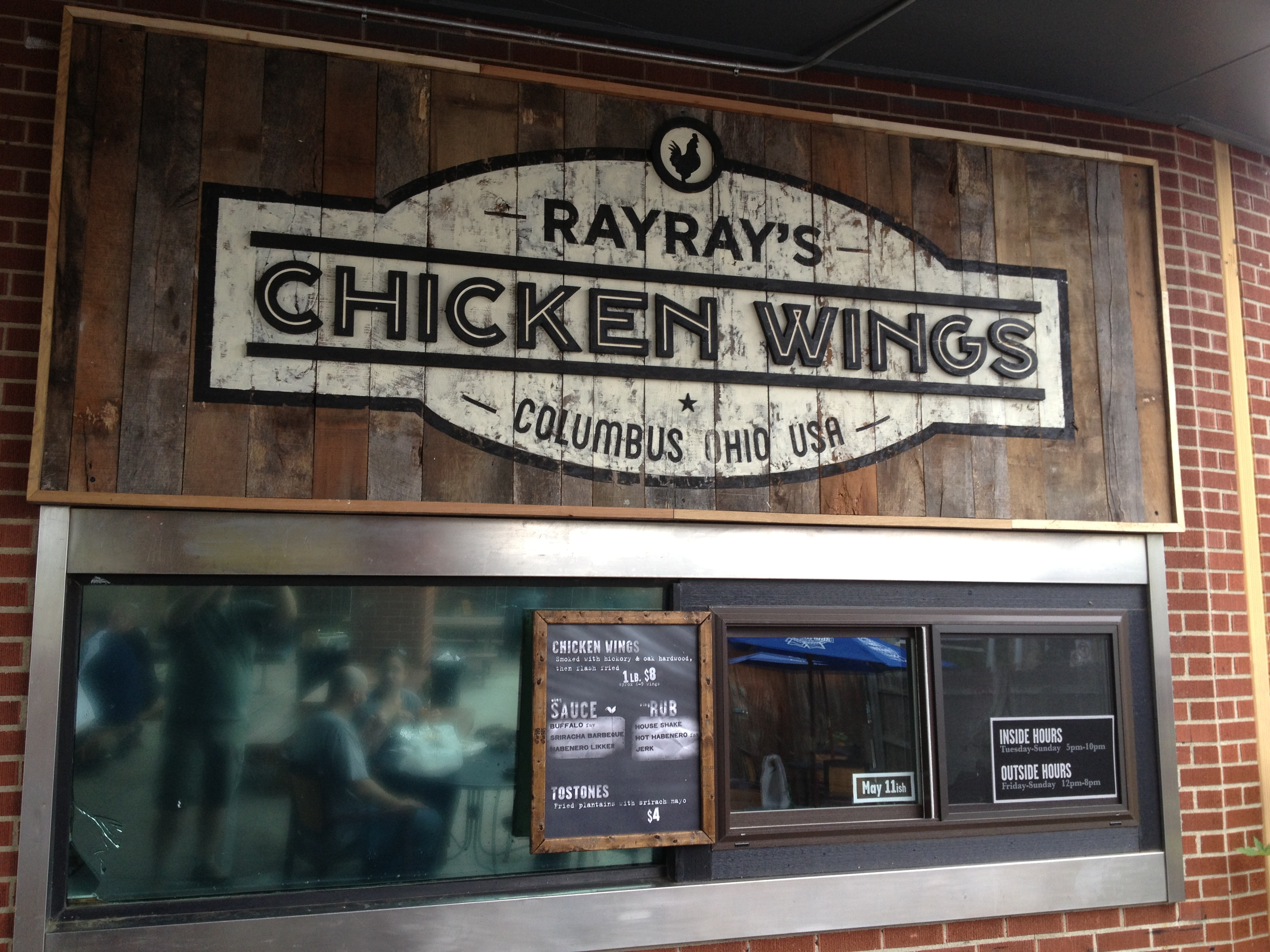 Ray Ray S Chicken Wings Cmh Gourmand Eating In Columbus