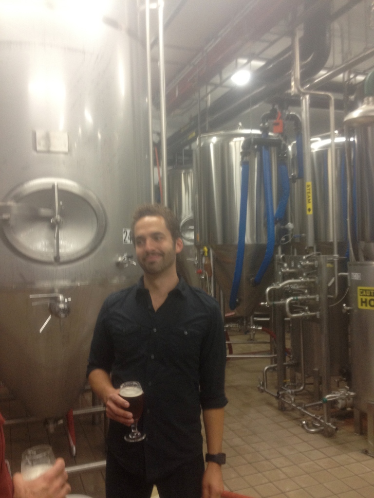 smile at the brewery