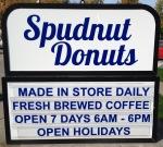 Spudnuts sign