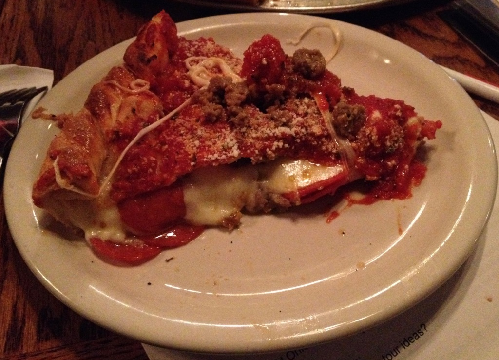 Yellow Brick Tristanos Deep Dish Pizza