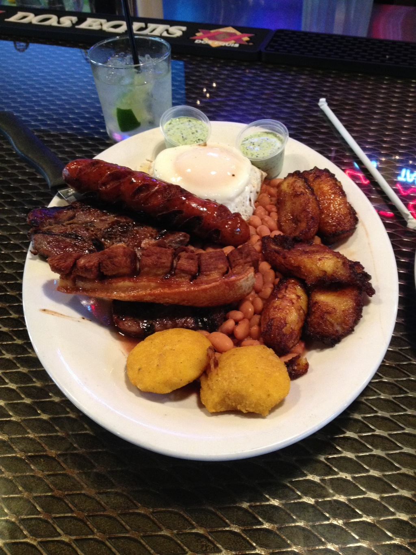 Food at El Arepazo
