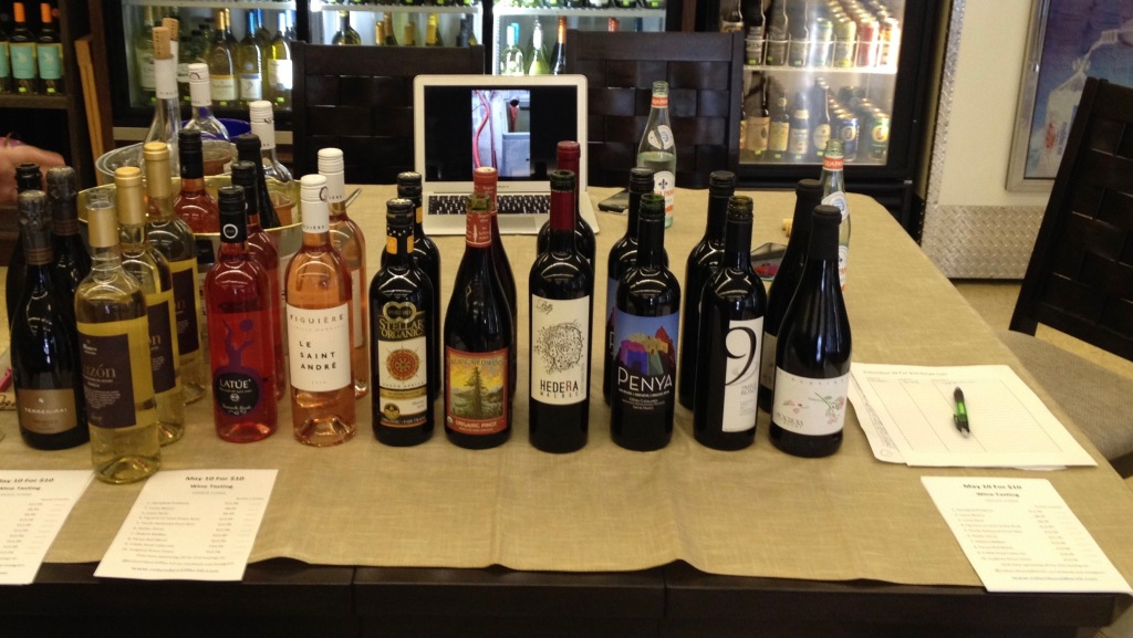 10 for 10 Tasting at Palmers