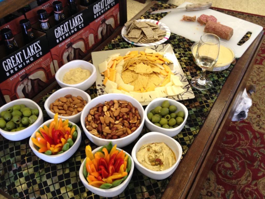 Food at Palmers Beverage Tastings
