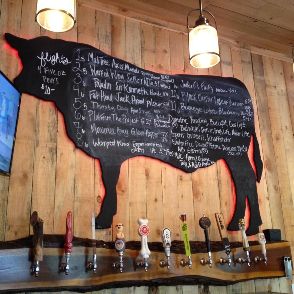 Blystone Beer Menu