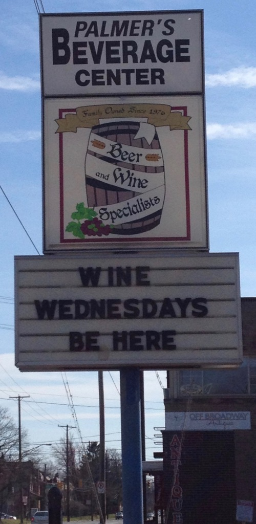Palmers Sign