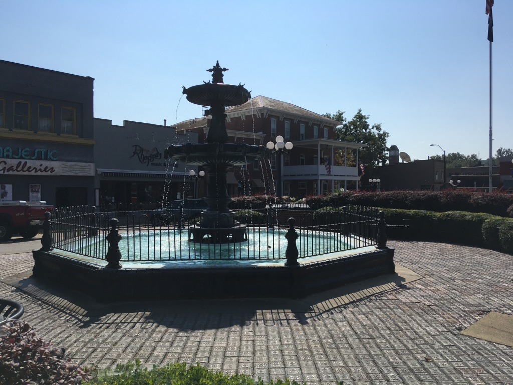 image of nelsonville fountain