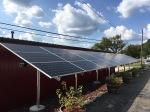 Solar panels at Devil'sKettle