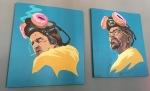 Breaking donuts