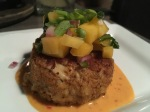 Crab Cake with TikiSauce