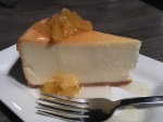 Pineapple Cheesecake at the BoatHouse
