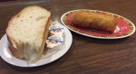 egg roll and bread Ding Ho