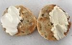 Belle Chevre cream cheese onbagel